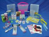 Caixa plástica personalizada do PVC do cosmético Unbreakable (caixa de dobramento)