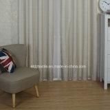 Grado superior moderna del modelo de poliéster hilado teñido de tela cortina de la ventana