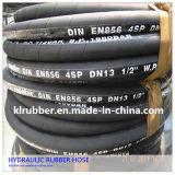 Borde hidráulico de goma de alta presión de Whith de la asamblea de manguito