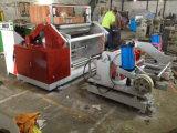 Superficie de papel laminado rebobinadora Máquina de corte