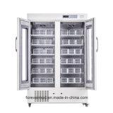 2018 새로운 660L 좋은 품질 혈액 은행 장비 냉장고 3-5 정도