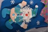 De vrolijke Sok van Kerstmis van de Decoratie van de Kous van de Buis van de Giften van Kerstmis 3D
