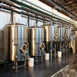 500L aangepaste die bierbrouwenapparatuur in China wordt gemaakt