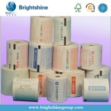 papier thermosensible populaire des produits 60GSM de l'entrepôt 3primary blanc