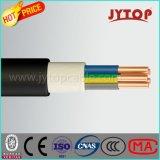низкий открытый огонь галоида дыма 300/500V - retardant заземляющий кабель стального провода бронированный