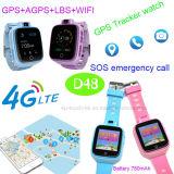 Vigilanza astuta del più nuovo inseguitore di 4G/WiFi GPS per sicurezza D48 capretti/del bambino