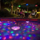 Erscheinen-Swimmingpool-Disco-Partei BADEKURORT Bad-Unterwasserteich-wasserdichte Lichter der heißen Form-Farben-ändernde glühende LED heller