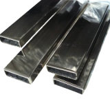de Rechthoekige Roestvrij staal Gelaste Pijp van 304 316 316L Inox