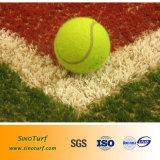 Tennis-Gericht Anti-Aging, U/V Widerstand, ungiftiges künstliches Gras, synthetischer Rasen