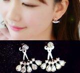 Juwelen van de Nagel van de Diamant van het Zirkoon van de manier bengelen de Zilveren de Juwelen van Oorringen
