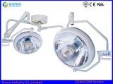 Lampes Shadowless d'exécution de plafond de salle d'opération de Double-Tête de lumière froide d'hôpital