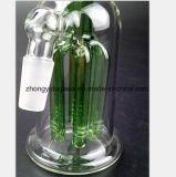 De groene Boom vertakt zich de Waterpijp van het Glas van de Olie van het Recycling van de Filter van Montage