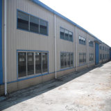 Baixo custo de Estrutura de aço leve depósito prefabricadas