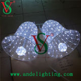 LED Christmas Bell Motif Lights 3D Motif Sculpture Lights