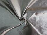 tela de nylon del tafetán del hilado negro 20d para abajo la ropa (XSN012)