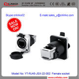 3D CameraのためのCnlinko Waterproof RJ45/Connectors RJ45/RJ45 Female Connectors