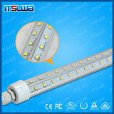 LED T8 de la puerta del refrigerador congelador de la luz del tubo de iluminación con fines comerciales.