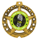 La medaglia stampata della tazza gioco del calcio/di calcio con Buddhism della sagola concatena il colore