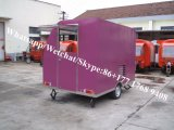Quiosco moderno portable prefabricado de la estructura de acero del bajo costo