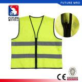 Segurança Segurança de alta visibilidade colete reflector de tráfego de construção ou armazém