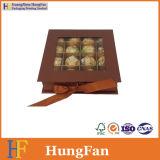 Boîte d'emballage de cadeaux personnalisés pour les bonbons de Noël au chocolat