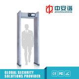 O Visual do detetor de metais do quadro de porta alarma o detetor de trabalho da freqüência 100
