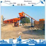 Kleine Concrete het Groeperen Installatie 35m3/H in Sri Lanka
