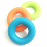 Grossiste à main Gripper Silicone Grip Ring 3 niveau Résistance Force