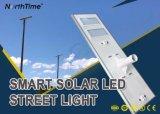 lampada integrata/tutta compresa di 6W-120W del sensore solare dell'indicatore luminoso LED di via con Sunpower