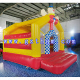 Clown themenorientiertes Inflatable Jumping Castle/Waterproof Small Inflatable federnd Jumping Castles für Kids