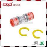 Conduit OD 12/10mm, connecteur droit de Microduct de HDPE, accouplement de Micro-Conduit, prix modéré, évalué supérieur