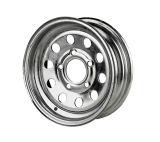 [16إكس10] (6-139.7) كروم تضمينيّة فولاذ عجلة مع برشام