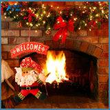 [سنتا] كلاوس رجل ثلج شجرة باب عيد ميلاد المسيح زخرفة لأنّ بينيّة