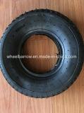 3.00-8 Pneumático de roda de borracha do Wheelbarrow de Handtrolley com câmara de ar interna