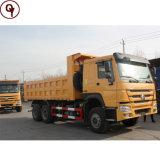 Sinotruk HOWO 340 HP 6*4 양 모래 팁 주는 사람 덤프 트럭