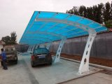 Estructura de acero de acero de construcción de aparcamientos arrojar