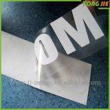 Design personalizado barato adesivo transparente