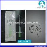 De Markering van de Microchip RFID/van het Glas voor Dierlijke Identificatie