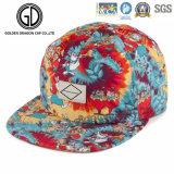 2018 Impresión por sublimación de alta calidad colorido estilo New Era Cap Snapback con bordados
