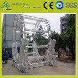 Ферменная конструкция этапа квадратного круга алюминиевая