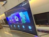 Télévision incurvée par TV de vente chaude de Digitals DEL