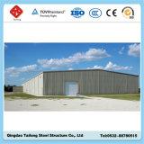 La estructura de acero corrugado de almacenes prefabricados arrojar