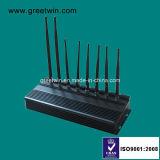 stoorzender van het Signaal van de Telefoon van de Stoorzender van het Alarm 433MHz 315MHz de Mobiele Regelbare Stoorzender (GW-JA8)