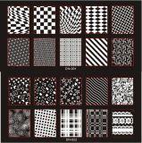 못 예술 장식 심상 우표는 매니큐어를 위한 격판덮개를 인쇄하는 격판덮개 못을 각인하는 못을 도금한다