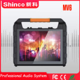 Shinco TFT de 14 pulgadas portátil profesional de altavoces portátiles con pantalla LCD