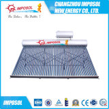 Riscaldatore di acqua solare spaccato del collettore solare dell'acciaio inossidabile