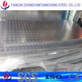 piatto dell'impronta dell'alluminio 3003 1060 5052 in barra cinque barre/tre
