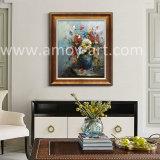 De zware Olieverfschilderijen van de Bloem van de Olie op het Canvas Van uitstekende kwaliteit