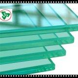 8mmの装飾的な安全ゆとりの緩和されたフロートガラスのパネル