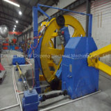 Alambre de aluminio cable que forma la máquina